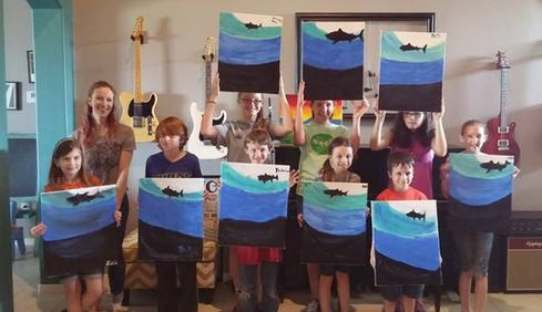 Painting class Katy TX