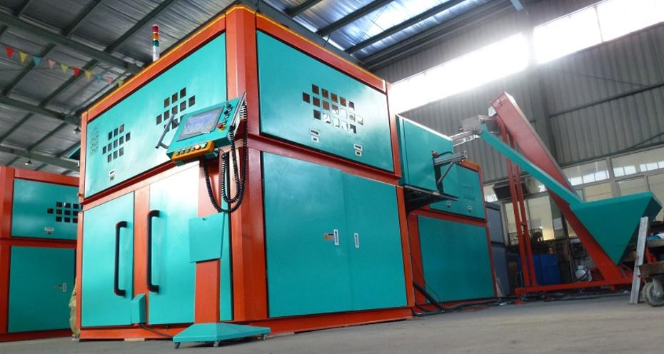 bottle blowing machine blow molding machine PET bottle
