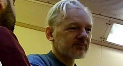 Belmarsh prison inmate provides photos of Julin Assange