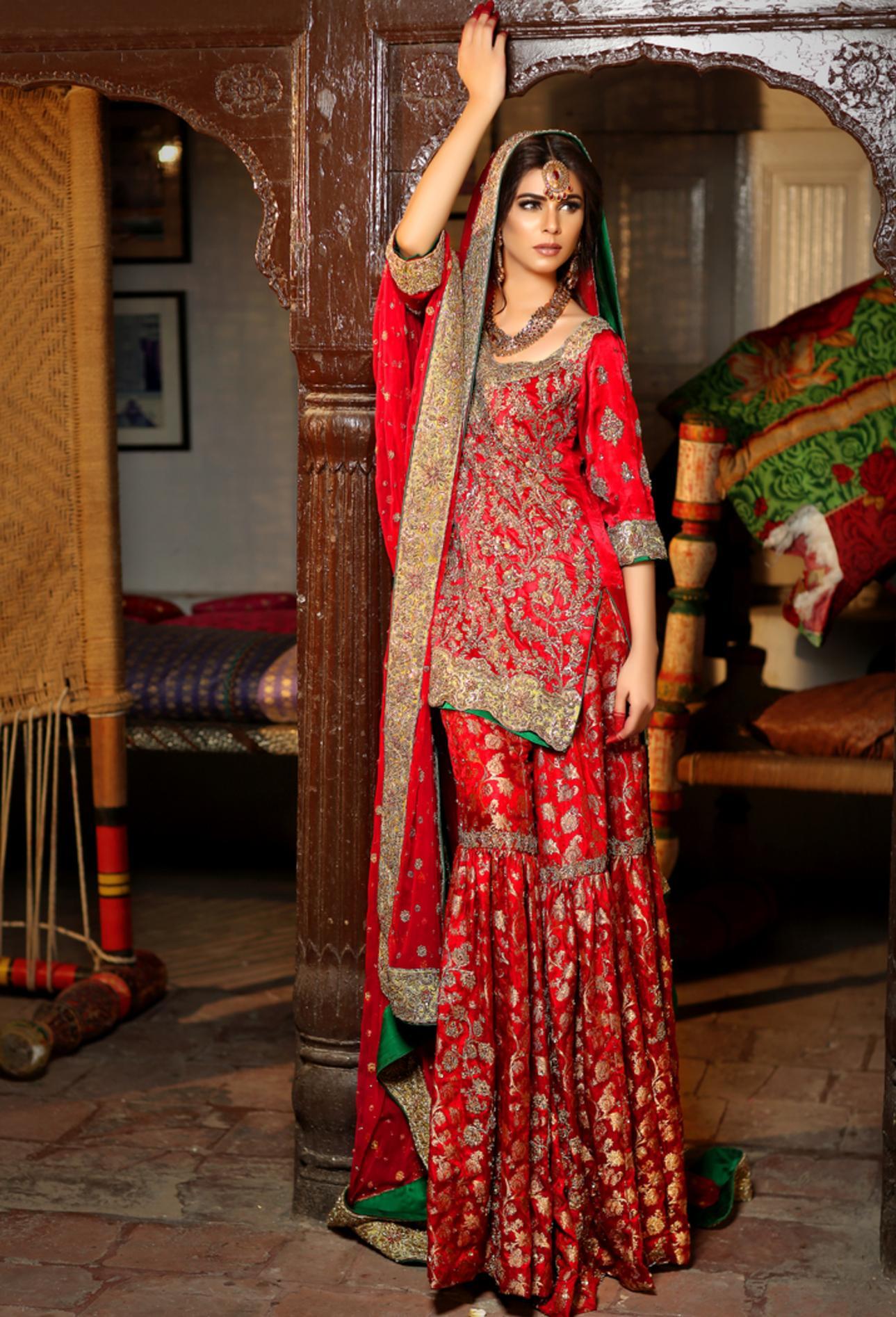 indian Pakistani Bridal Wear Dresses, Wedding Dresses - Indian And ...