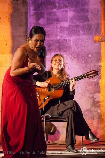 flamenco singing and guitar