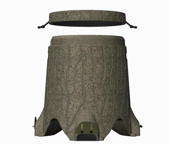 TruStump Feeders 3D rendering