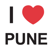 I Love Pune Sticker