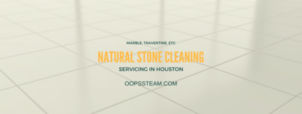 natural stone cleaning service featuring a marble floor
