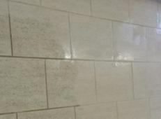 Pro kitchen tile and grout cleaning before and after