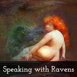 Speaking With Ravens painting
