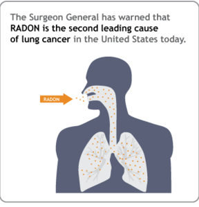 radon causes cancer
