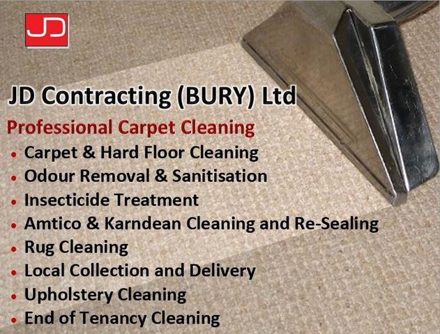 JD Contracting Bury Cleaning Services