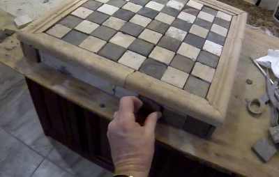 How to make a Ceramic Tile Chess Board. Check out our short how to video. www.DIYeasycrafts.com