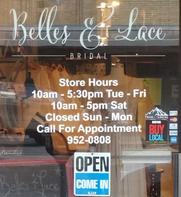 Belles & Lace Window Decals