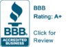 Click to review our BBB Rating