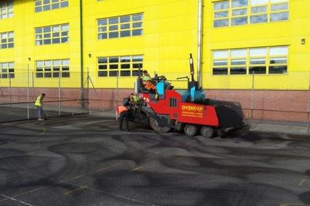 Ovenden Surfacing Paving machine