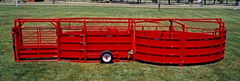 Portable Tub Cattle Squeeze Tub Alley
