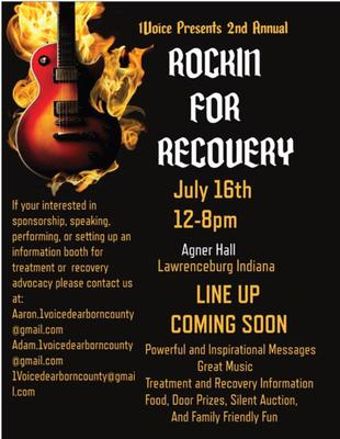 Rockin' For Recovery Poster
