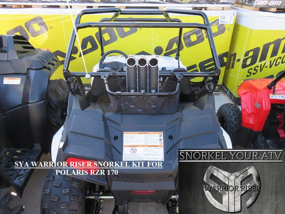 Polaris RZR Snorkel kits