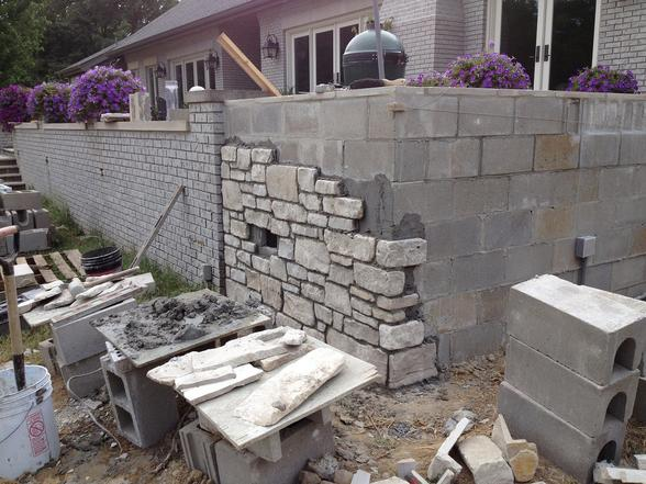Brick Wall Stone Wall Block Wall Installation In Edinburg McAllen TX | Handyman Services of McAllen