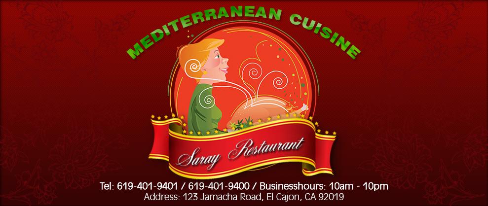 http://www.sarayrestaurantsandiego.com/  (619) 401-9400 Persian cuisine San Diego