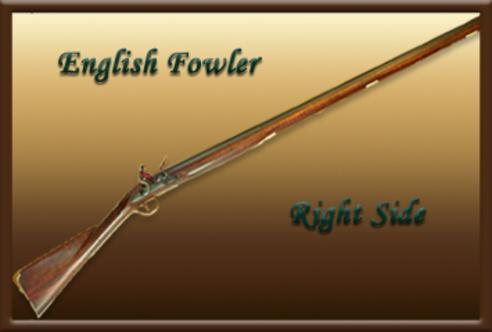 BLACK POWDER 12 GA  ENGLISH FOWLER BY CAYWOOD GUNS
