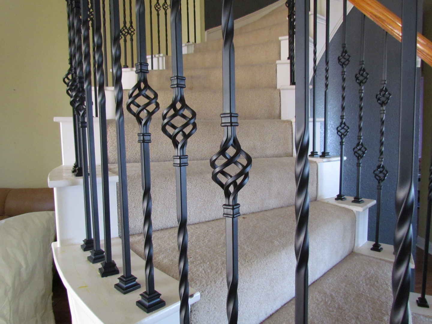 100 iron stair balusters parts iron stair balusters call 81