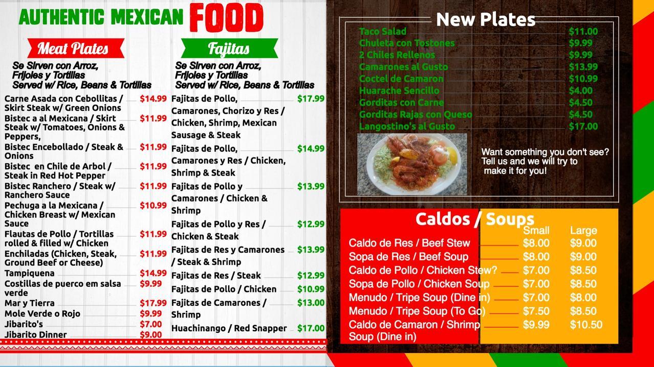 La Lena Restaurant Mexican Food Authentic Mexican Food