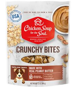 Chicken Soup Crunchy Bites with Peanut Butter