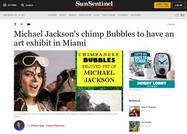 Sun Sentinel Article on Apes that Paint