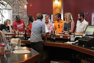 Wine Tasting on the Taste of Branson Tour