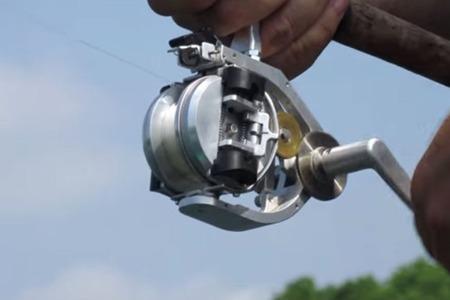 Straightcast reel for Concept fishing reel
