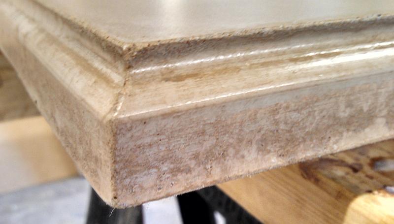 Concrete Countertop Edge Designs : Concrete Countertop Edge Forms Concrete Countertops