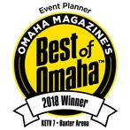Best of Omaha 2018 Event Planner Winner
