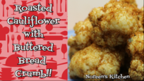 Cauliflower with Buttered Breadcrumb Recipe, Noreen's Kitchen