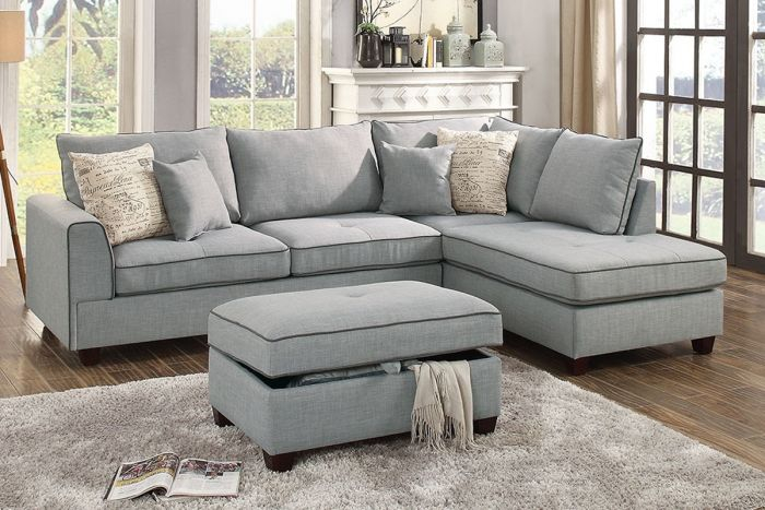 Welcome To Payless Furniture 2 PC Sectional W Ottoman 649