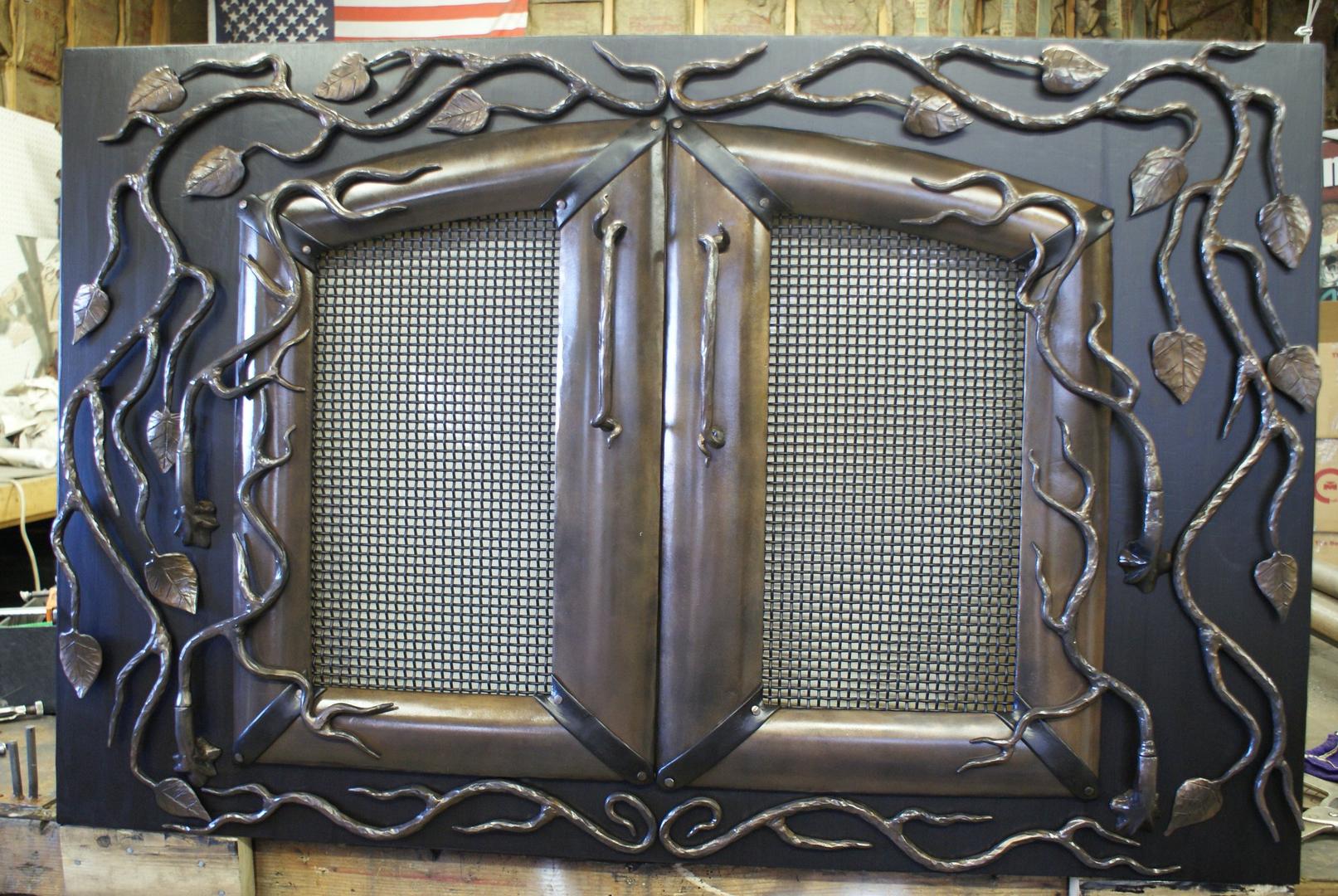 custom fireplace doors dact us