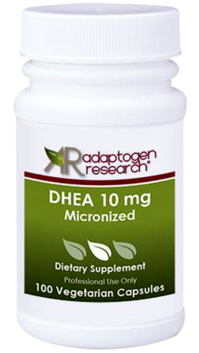 Adaptogen Research, DHEA 10 mg Micronized