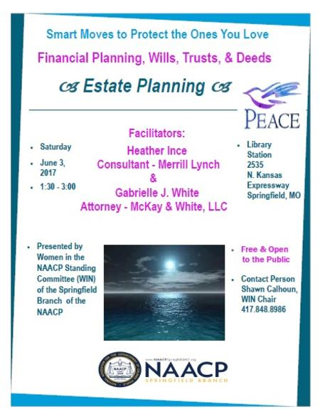 Estate Planning NAACP