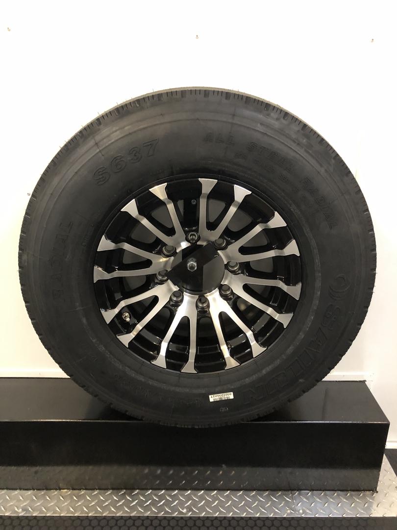 Trailers Vintage Tire Compressor 12 Volt Light Wiring Diagram Tool Compartment