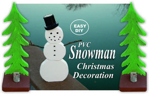 How to make Christmas Snowman decorations. www.DIYeasycrafts.com