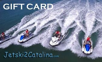 Jetski2Catalina gift card purchase