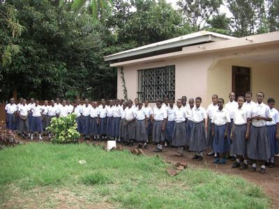 Students at the Dageno Girls Center