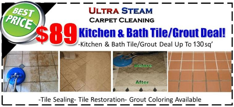 Tile & Grout Cleaning St Louis, MO | Ultra Steam Carpet Cleaning