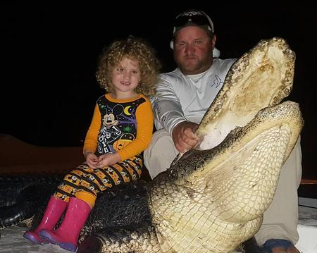 alligator hunting family trip