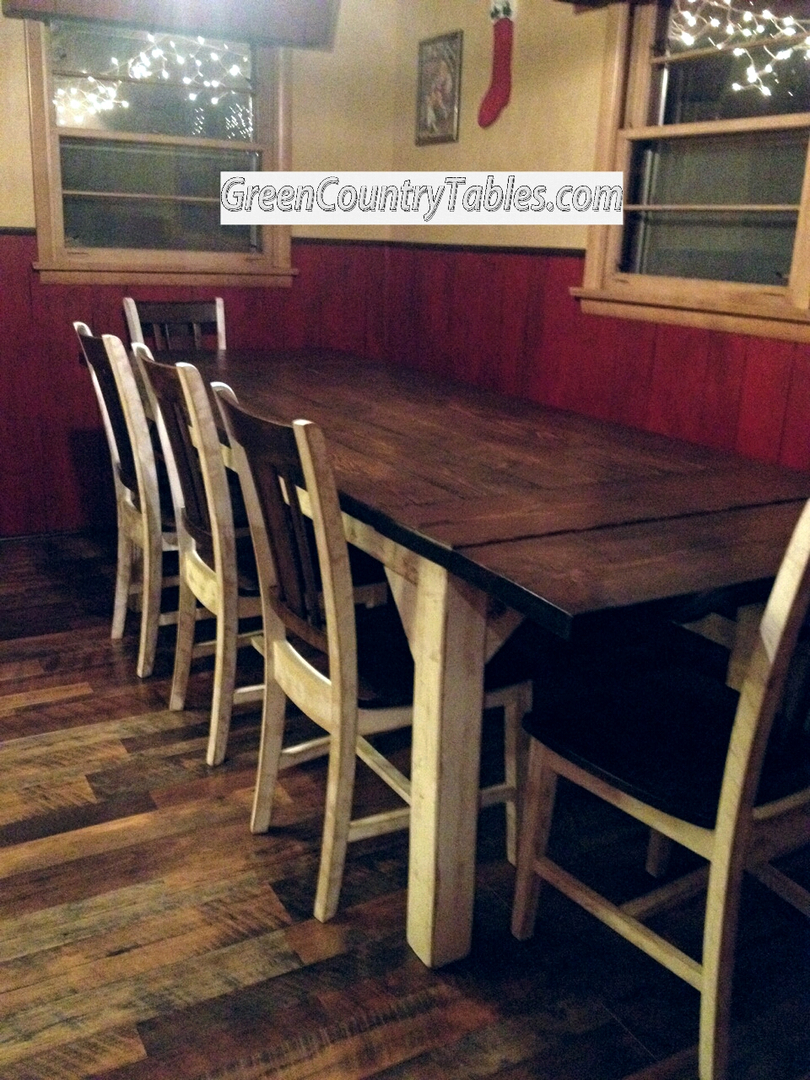 Green country dining table - Green Country Tables Farmhouse Table And Chairs Farm Tables Picnic Tables