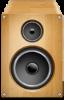 Stumptown DJs Weddings - Photo of small wood speaker symbolizing our 200 Level Rate