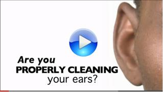 How to properly clean your ears video