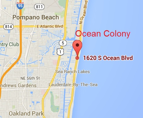 Sea Colony Map on
