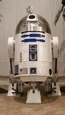 R2-D2 Life Size 1:1 Scale