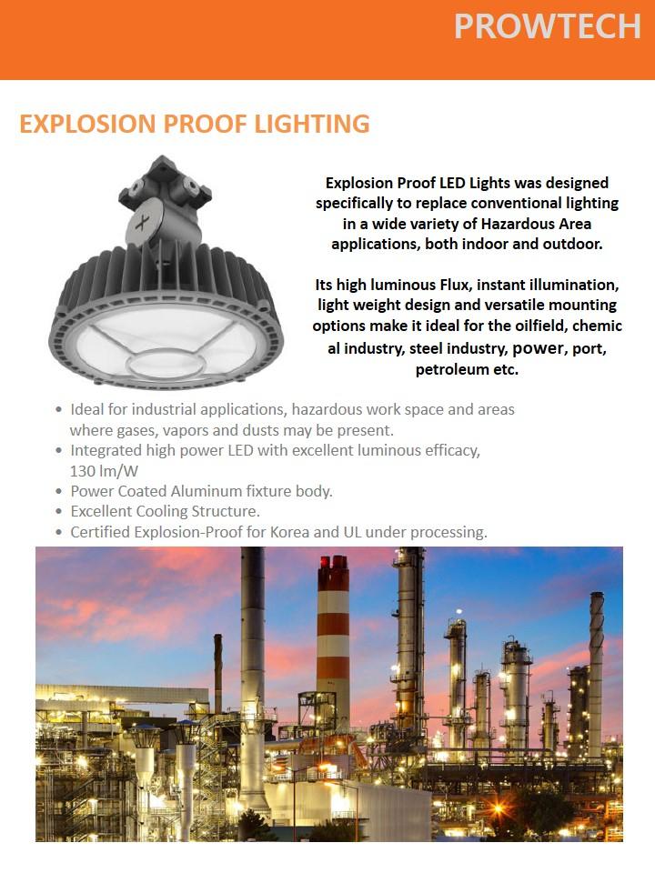 explosion proof lighting