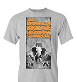 Brooklyn Bridge Elephant Stampede Brochure T-Shirt - Black