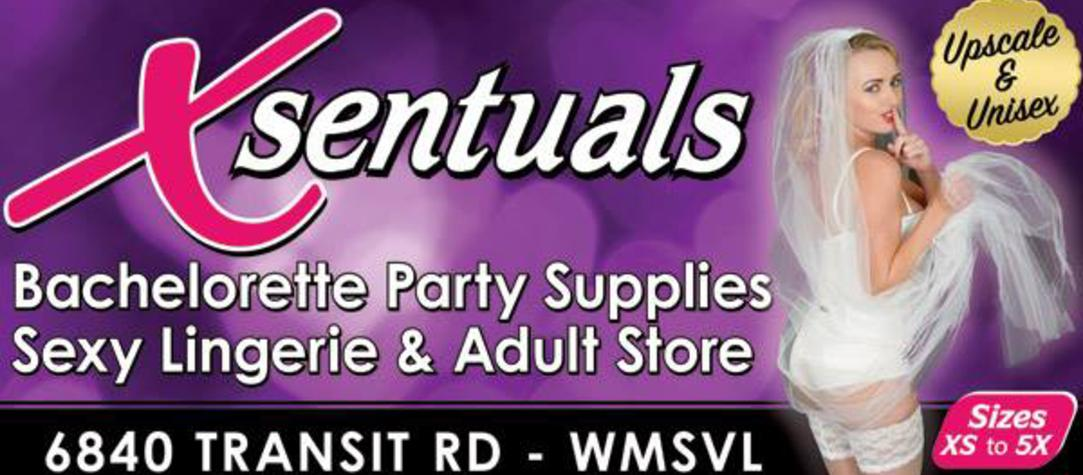 Xsentuals Lingerie & Adult Novelty Store in Buffalo NY all sizes of sexy St Patrick's Day themed lingerie from XS (extra small) to 5X (extra large)