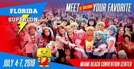 Miami Events; Miami Beach Events; Florida Supercon; Miami Beach Convention Center; Comics; Animation; Cartoons; Video Games; Sci-Fi; Family Event